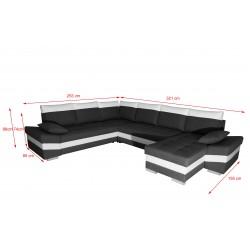 Canapé Panoramique Convertible - SAMOA GFBL AG 5