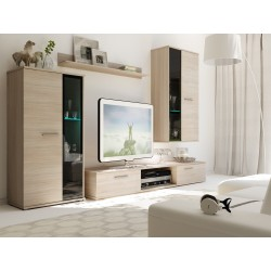 Mur TV - SALSA chene sonoma