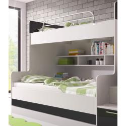 Chambre à coucher Enfant - KIDS 2 noir 2
