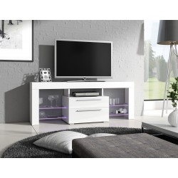 Meuble TV - HAVANA blanc 1
