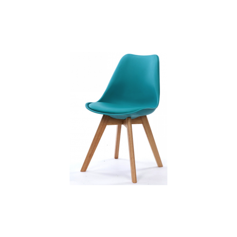 Chaise Scandinave Bleu turquoise