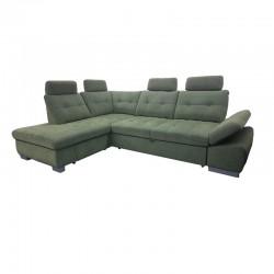 Canapé d'Angle Convertible Coffre - CREMONA 1