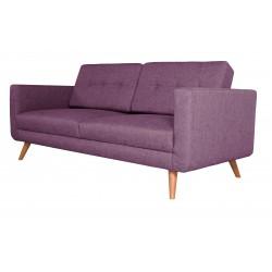 Canapé 3 Places Tissu - HEDWIG violet 2