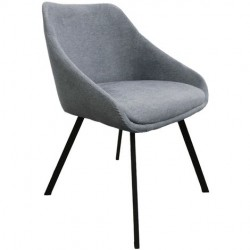 Chaise - ADAM gris clair 1