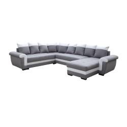 Canapé Panoramique gauche lux 05 / blanc - MOKKA 1