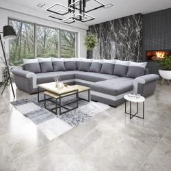 Canapé Panoramique gauche lux 05 / blanc - MOKKA 3