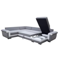Canapé Panoramique gauche lux 05 / blanc - MOKKA 4