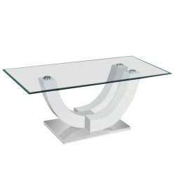 Table Avara - Brillant Blanc 1