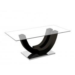 Table Avara - Brillant Noir 1
