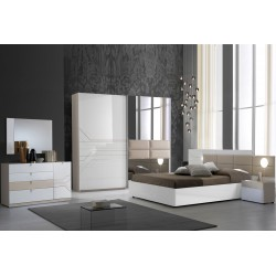 Chambre Svetlana - blanc 1