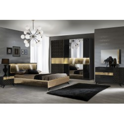Chambre Glamour - noir 1