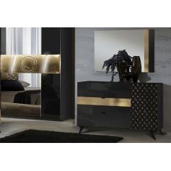 Chambre Glamour - noir 10