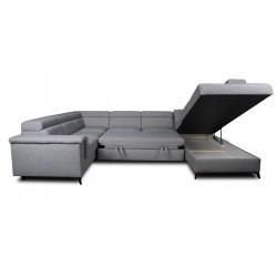 Canapé panoramique angle gauche MONET 90 - DALLAS 4