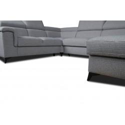 Canapé panoramique angle gauche MONET 90 - DALLAS 5