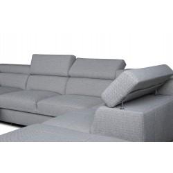 Canapé panoramique angle gauche MONET 90 - DALLAS 6