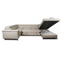 Canapé panoramique angle gauche MONET 22 - DALLAS 3