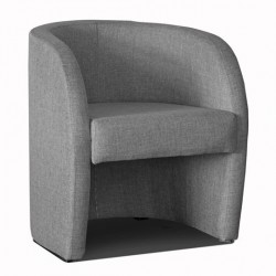 Fauteuil cabriolet LILLY Tissu gris 2