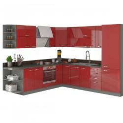 Cuisine - SCARLETT 3 rouge 1