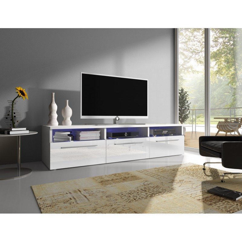 Meuble TV - RTV 2 blanc 1
