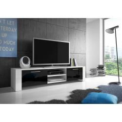 Meuble TV - RTV 9 noir et blanc 1