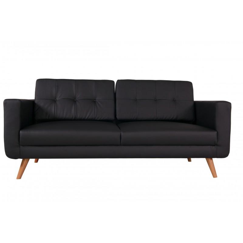 canap droit 3 places hedwig. Black Bedroom Furniture Sets. Home Design Ideas